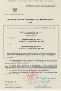 Certyfikat-str.-1-produkcja-  ang. 3A