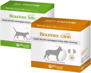 Biourinex canis / Biourinex felis – NOWE produkty w sprzedaży