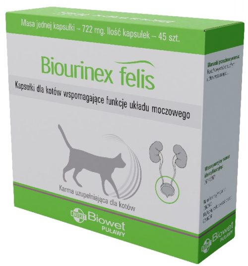 Biourinex felis – 08.2018