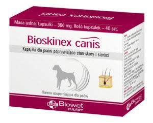 Bioskinex canis – NOWY produkt w sprzedaży
