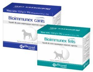 Bioimmunex canis / felis – PROMOCJA STYCZEŃ – KWIECIEŃ 2020 R.  1+1
