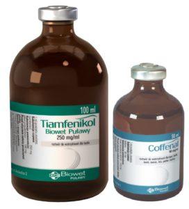 Tiamfenikol Biowet Puławy 100 ml + Coffenal 50 ml – PROMOCJA tylko w Lutym 2019 r. 3+1